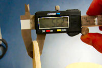 table tennis blade measurements