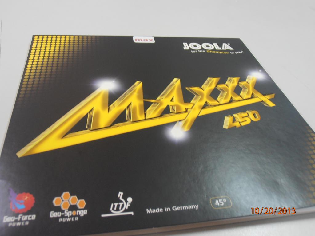 Joola Maxxx 450 Table Tennis Rubber Review