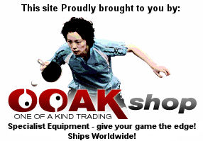 OOAK Table Tennis Shop