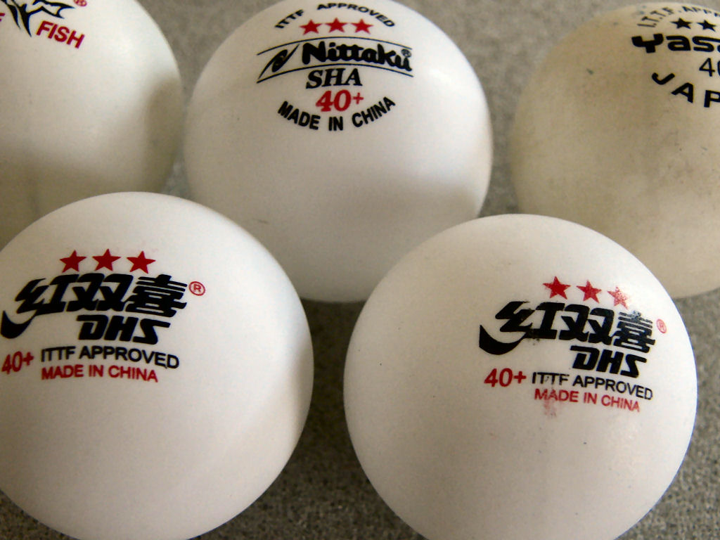 Dhs 40 plastic ball review for 100 table tennis balls