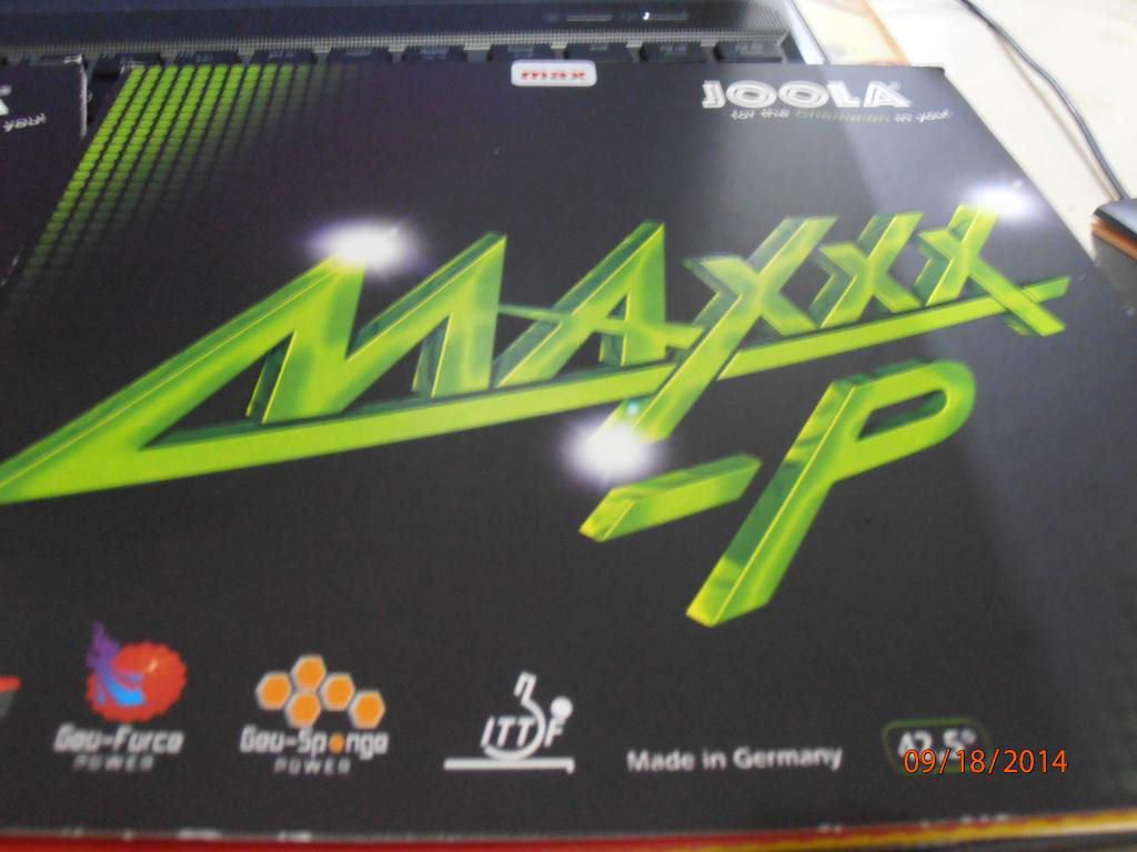 Joola's new MAXXX-P and RHYZM-P Reviews