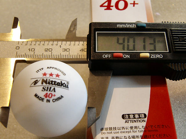 Nittaku Plastic 40 Table Tennis Ball Review