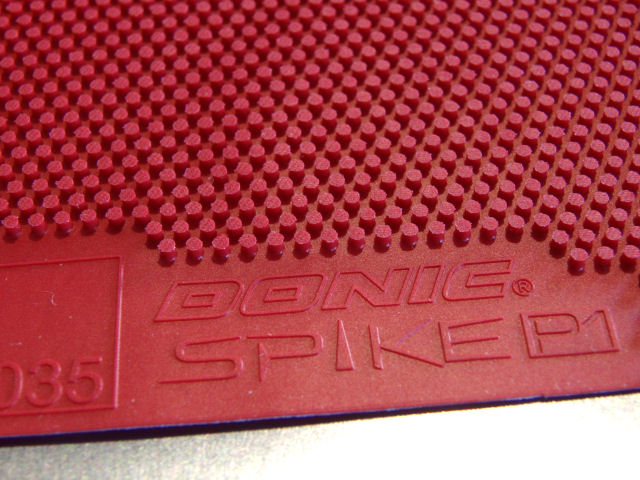 Donic Spike P1 And P2 Rubber Review