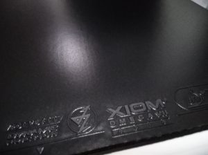 Xiom Omega 7 Asia rubber